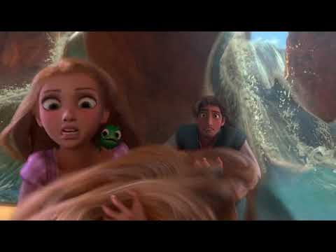 Tangled (2010) - Water Dam Scene (5/10) | Cartoon Clips
