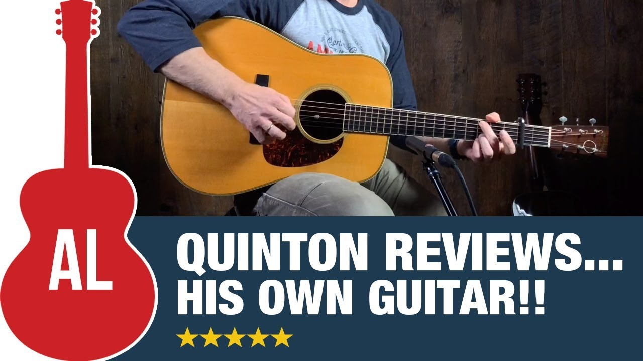 Quinton from the Acoustic Letter reviews his own guitar!