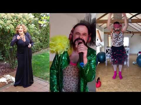 Let 3 i Tereza Kesovija iz svojih domova zapjevali 'Sam u vodi'