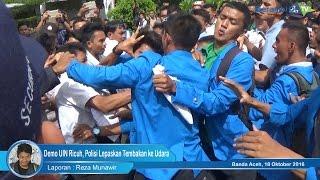 Demo UIN Ricuh, Polisi Lepaskan Tembakan ke Udara