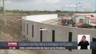 El Gobierno de Ecuador dijo hoy lamentar la decisión del Perú de llamar a consultas a su embajador en Quito, Hugo Otero, por la...