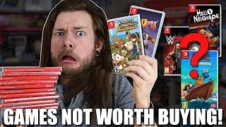 TERRIBLE Nintendo Switch Games Anti-Buying Guide, What To AVOID!