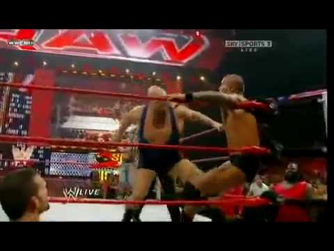 Randy Orton & John Cena vs Big Show & Chris Jericho 2009 1/2