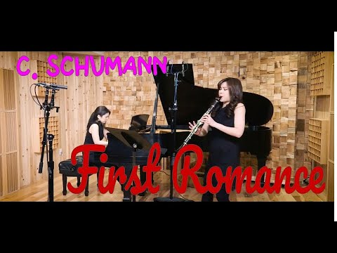 See video  Clara Schumann - Three Romances Op22 for clarinet and piano 1st Movement