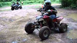 4. 2010 Polaris Outlaw 525 IRS
