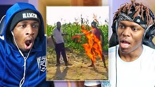 Video REACTING TO INTERNET STUFFS WITH KSI (AFRICAN EDITION) MP3, 3GP, MP4, WEBM, AVI, FLV Mei 2019