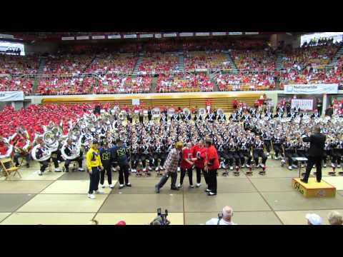 OSUMB Plays Game Show Halftime Show Are You Smarter Than A Wolverine at the Skull Session 9 7 2013 v
