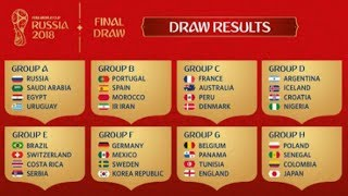 Video This is the Complete Results of the 2018 World Cup draw MP3, 3GP, MP4, WEBM, AVI, FLV Februari 2018