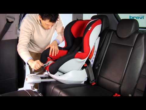 Brevi Axo Isofix: il montaggio del seggiolino in auto