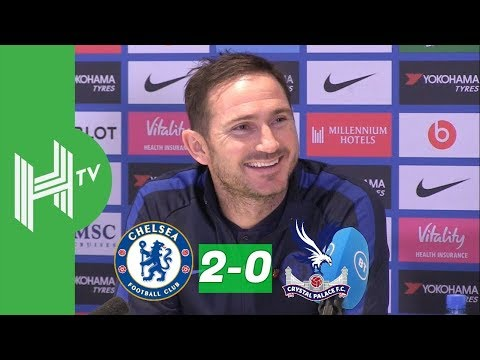 SIX straight wins and I'm DELIGHTED | Frank Lampard | Chelsea 2-0 Crystal Palace