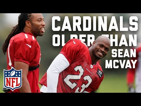 Video: Top 5 Cardinals Older Than Rams Head Coach Sean McVay | NFL Highlights