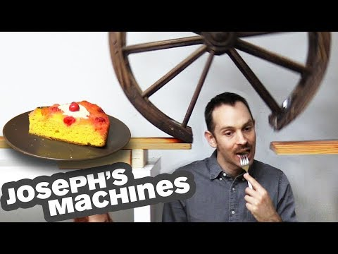 The most complicated food serving machine ever invented
