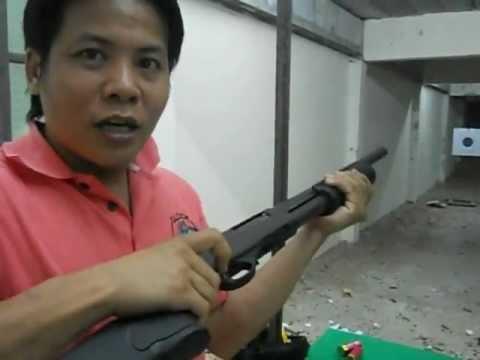 ปืนลูกซอง - เป็นการแนะนำ การแก้ไขของปืนลูกซองแบบ 5 นัด ที่ยิงไปแล้วไม่คัดปลอกกระสุนออก......