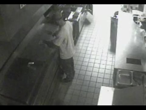 Man Breaks In Five Guys Cooks And Burgers!