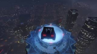 From the ground to the top of maze bank (Rocket Voltic) GTA V ONLINE