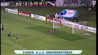 Vasco 5 x 2 Universitário Melhores Momentos Sulamericana