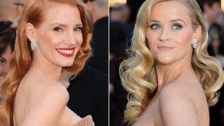 Oscars Hair | Red Carpet Hair&How To Get Vintage Hollywood Glam Waves