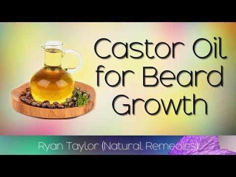 Beard oil - Castor Oil: for Beard Growth