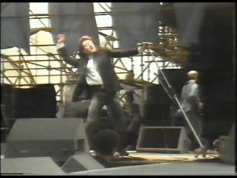 Unforgettable Fire Tour - Rare pro-shot footage of I Will Follow by U2 in Dublin 1985. From the TV documentary