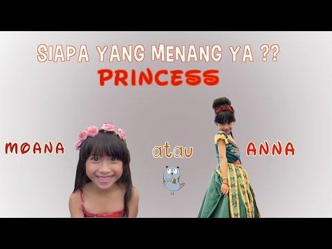 Siapa yang menang ya? Princess MOANA atau Princess ANNA