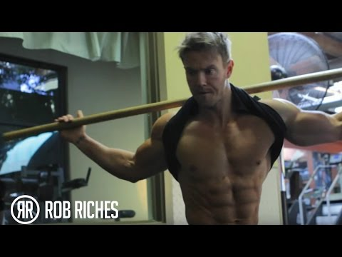 Simple Exercises For TIGHT Abs (Rob Riches)