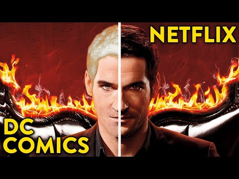 Lucifer: 10 Differences Between The Series and The DC Comics  🍿 OSSA Movies