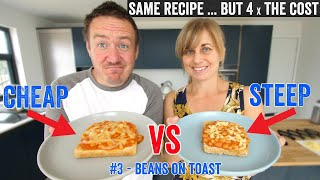 Beans on toast - Cheap vs Steep #3 by  My Virgin Kitchen