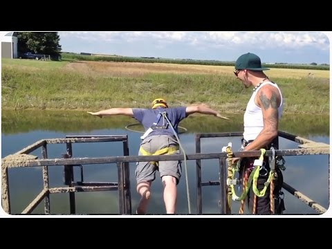 Bachelor Party Pranks Groom into Fake Bungee Jumping | Stag Party Prank