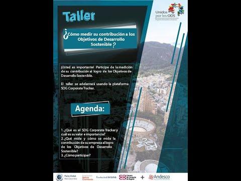 Webinar – Taller ¿Cómo medir su contribución a los Objetivos de Desarrollo Sostenible?