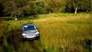 Land Rover Freelander 2 Offroad In Mud And Hill Climb