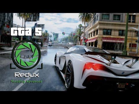 Gta 5 - Redux (Official Sneak Peek) (видео)