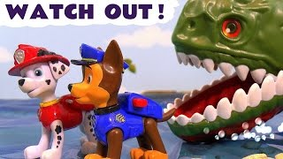 Video Paw Patrol Stop Motion Watch Out Pups with Thomas and Friends & Kinder Surprise Eggs Fun TT4U MP3, 3GP, MP4, WEBM, AVI, FLV Mei 2017