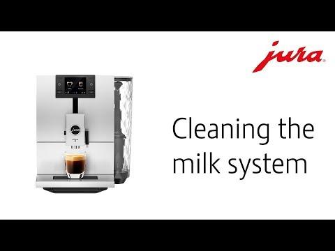 Čištění mléčných cest JURA ENA 8
