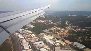 Bandar Seri Begawan Brunei  city photos : Royal Brunei Airlines Landing in Bandar Seri Begawan from Jakarta
