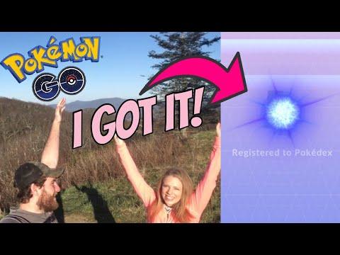 I CAUGHT THE RAREST POKÉMON ON A MOUNTAIN TOP! Pokemon GO Adventure Vlog! (видео)