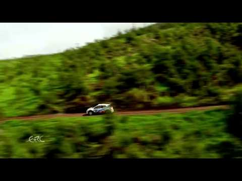 FIA ERC - SATA Rallye Açores 2014 - SS1 from the Helicopter