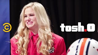 Video Tosh.0 - Web Redemption - Football-to-the-Face Girl MP3, 3GP, MP4, WEBM, AVI, FLV September 2018