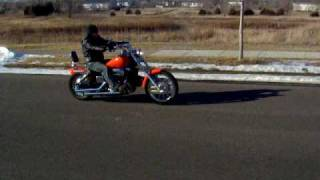 8. 2007 Honda Shadow Spirit 750 Drive by