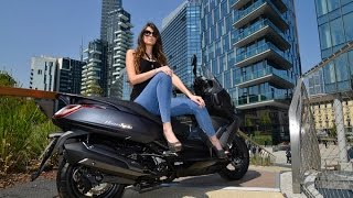 8. KYMCO DOWNTOWN 350 ABS presentation-specifications & on the road