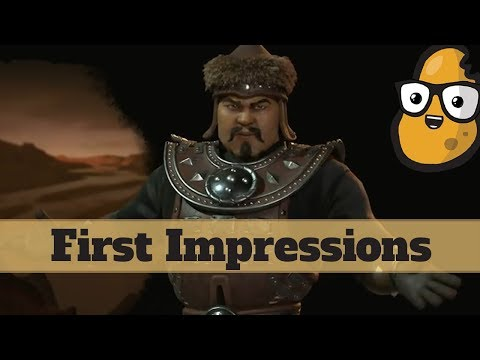 First Impression - Mongolia - New Rise and Fall Civilization Mongols - Civ 6 Expansion
