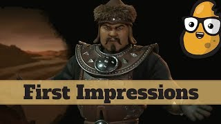 Video First Impression - Mongolia - New Rise and Fall Civilization Mongols - Civ 6 Expansion MP3, 3GP, MP4, WEBM, AVI, FLV Januari 2018
