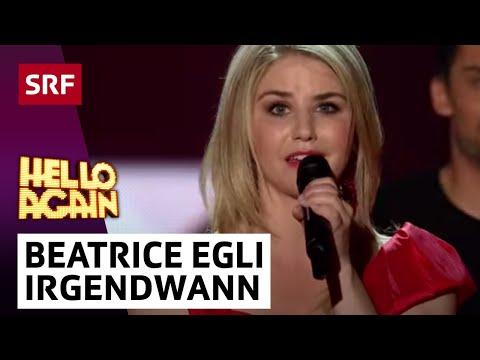 Irgendwann - Beatrice Egli performte bei der 1. Show von «Hello Again» ihren Song «Irgendwann». Mehr zu «Hello Again»: http://www.srf.ch/sendungen/hello-again/sendungspor...