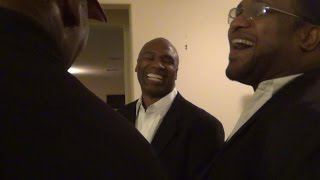 REUNION - LEON SPINKS, CHRIS BIRD, JAMES TONEY, LAMON BREWSTER&RAY MERCER
