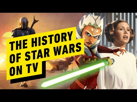 The History of Star Wars on TV