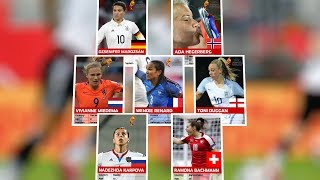 Who will shine brightest at the UEFA Women's EURO? Here are our top picks!Subscribe: http://youtube.com/dwkickoffGet more German football stories here:Facebook: http://facebook.com/dw.kickoffTwitter: http://twitter.com/dw_sportsWebsite: http://dw.com/sports