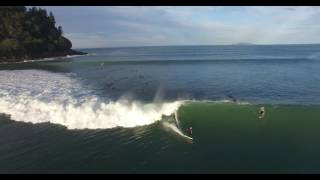 Whangamata New Zealand  city photos gallery : Whangamata Best Ever Surf Caught on Drone