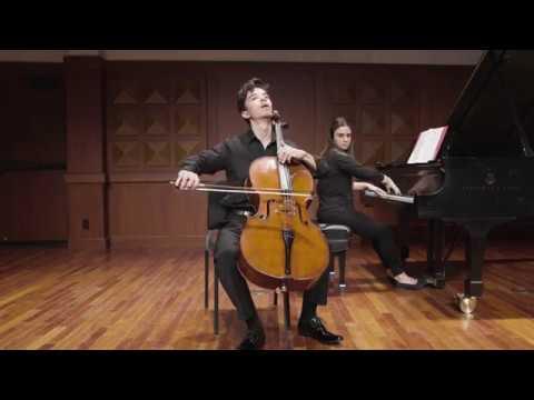 See video  Boccherini - Cello Sonata