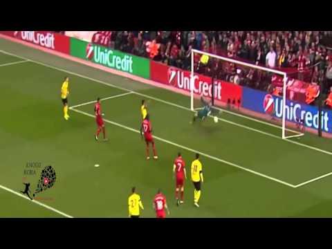 اهداف مباراة ليفربول و بوروسيا دورتموند
