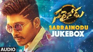 SARRAINODU Telugu Movie JUKEBOX