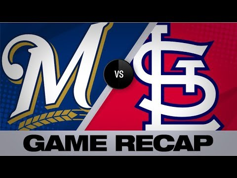 Video: 3 Cardinals combine to 1-hit Brewers | Brewers-Cardinals Game Highlights 8/19/19